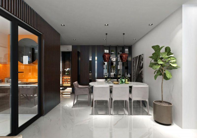 Trang trí đơn giản, đề cao tính hài hòa, ấm cúng trong nội thất