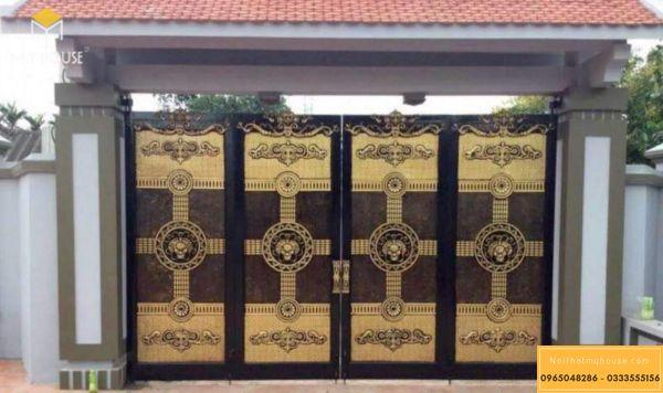 Lưu ý khi chọn kích thước cổng nhà theo lỗ ban
