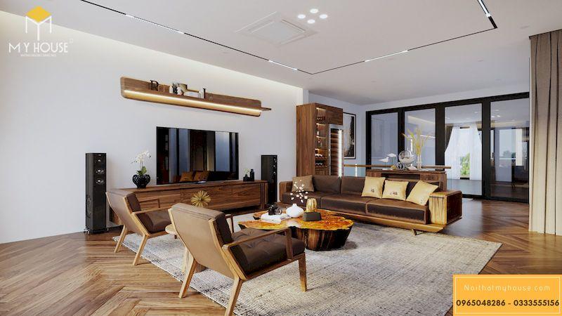 Mẫu thiết kế nội thất biệt thự hiện đại 2021 - Mẫu 4