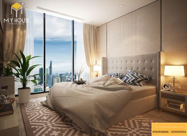 Nội thất phòng ngủ chung cư 3 phòng ngủ 94m2 - Hình 15