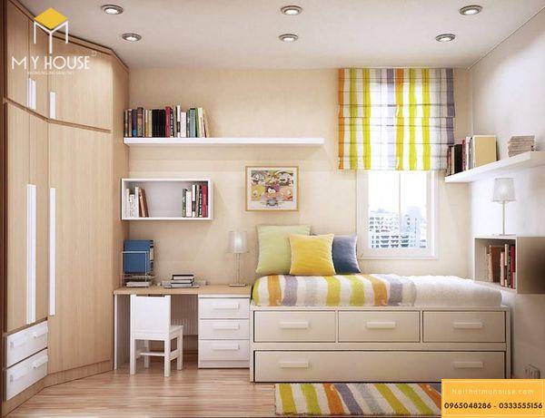 Phòng ngủ nhỏ cho bé trai - mẫu 14