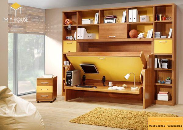Bố trí nội thất phòng ngủ - mẫu 19