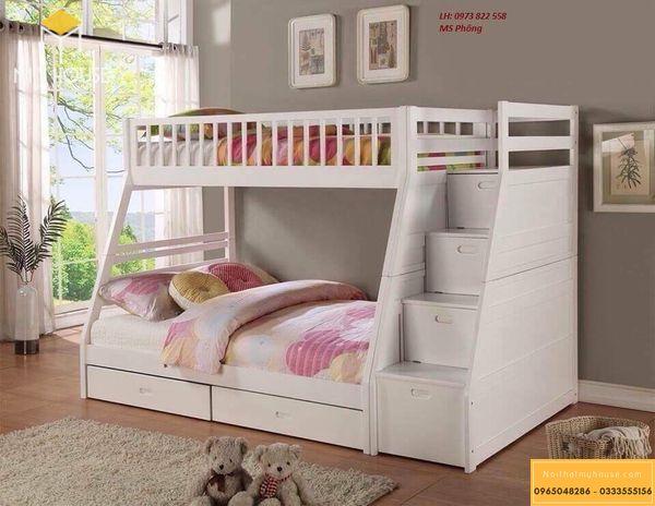Phòng ngủ nhỏ 10m2 cho bé gái - mẫu 10