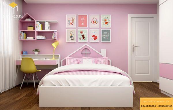 Trang trí phòng ngủ nhỏ 10m2 đơn giản - mẫu 22