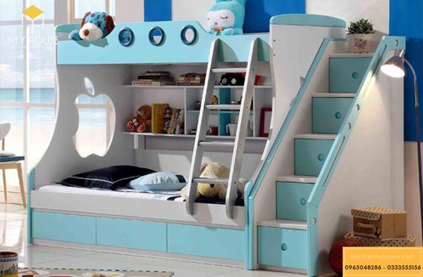 Phòng ngủ nhỏ cho bé trai - mẫu 15