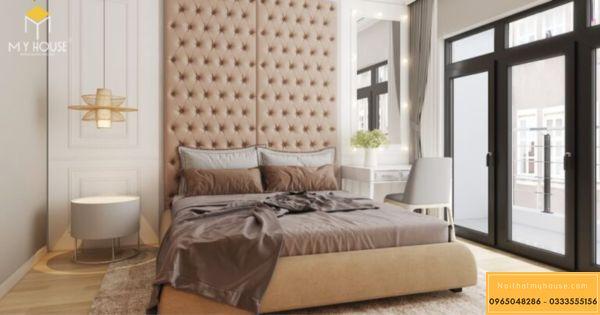 Phòng ngủ căn hộ tòa Diamond S2
