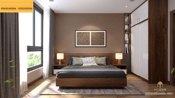 Nội thất phòng ngủ căn 2 ngủ - hình 7