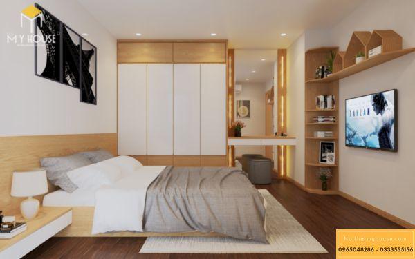 Nội thất phòng ngủ Hinode 3 ngủ 105m2 - hình 9