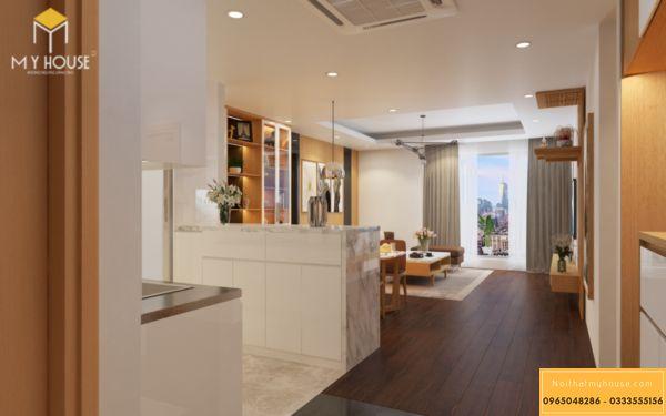 Thiết kế nội thất Vinhiomes Symphony phòng bếp - hình 6