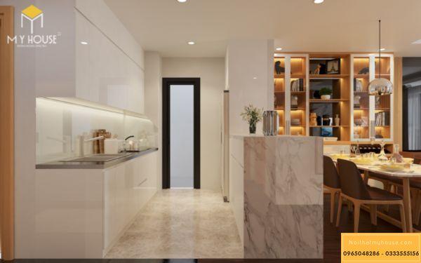 Nội thất phòng bếp Hinode City 3 ngủ 105m2 - hình 7