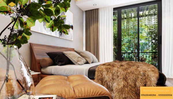 Thiết kế nội thất Vinhomes Symphony phòng ngủ - hình 19