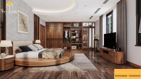 Thiết kế nội thất Vinhomes Symphony phòng ngủ - hình 18