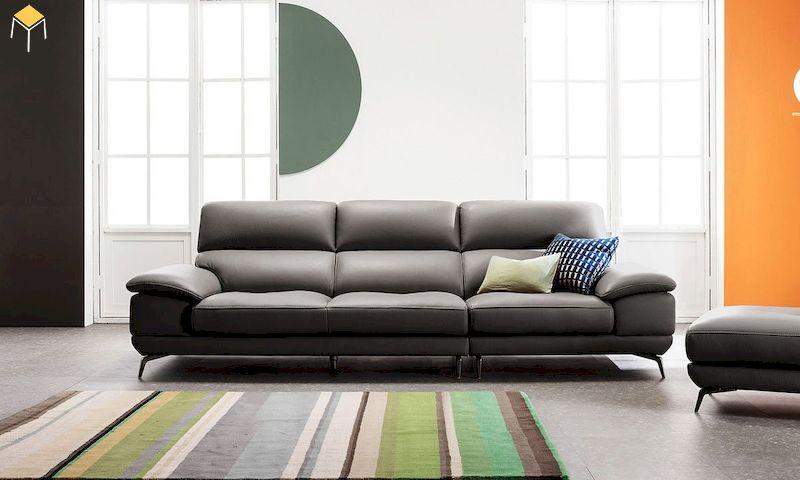 Chọn kích thước sofa da phòng khách