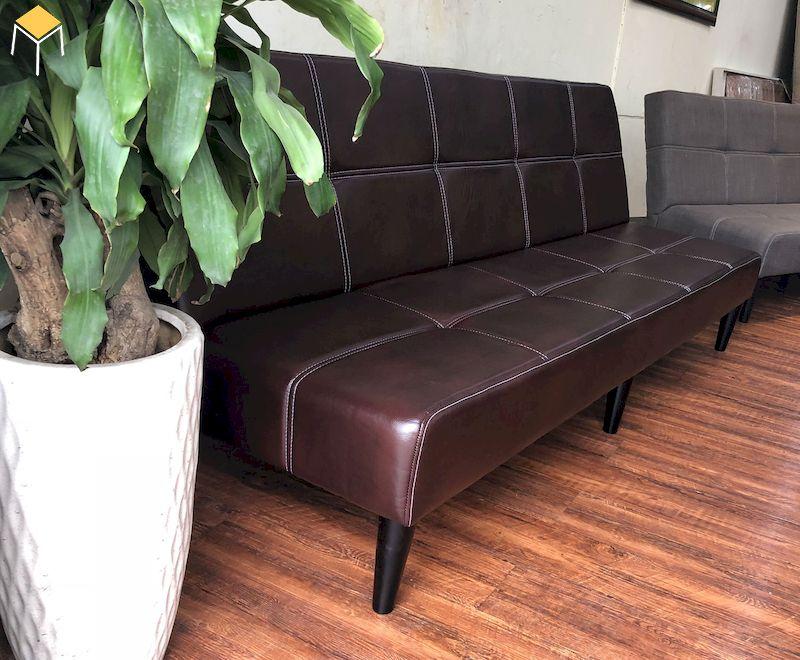 Mẫu Sofa giường bằng da
