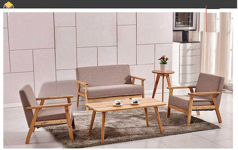 Mẫu bàn ghế sofa cho phòng khách nhỏ hẹp
