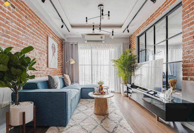Mẫu nội thất phòng khách nhỏ hẹp dưới 10m2