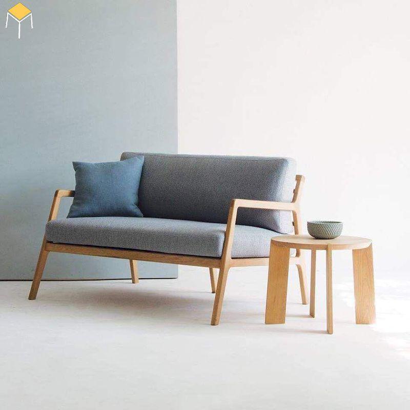 Sofa khung gỗ sồi