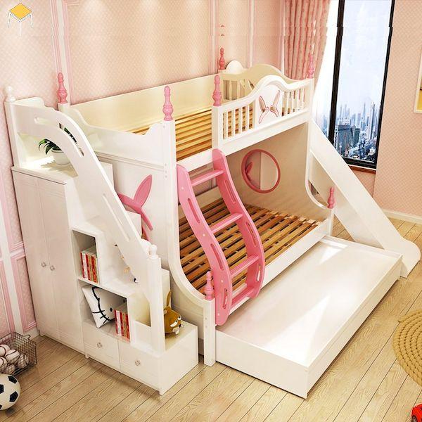 Mẫu thiết kế giường cho bé