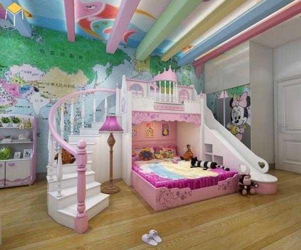 Trang trí phòng ngủ bé gái đẹp