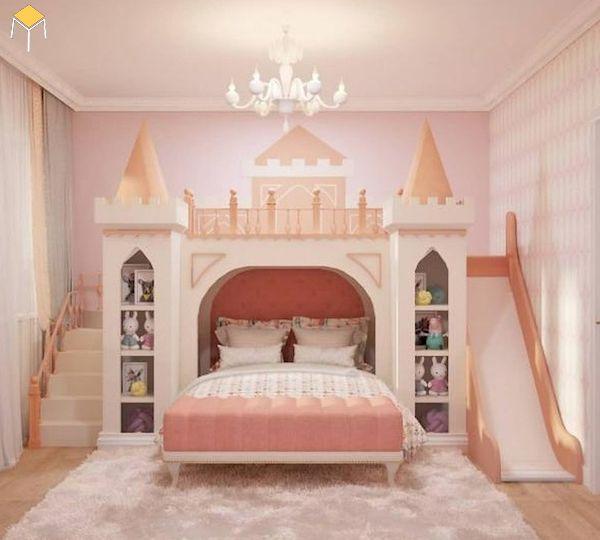 Thiết kế giường tầng đa năng cho bé yêu