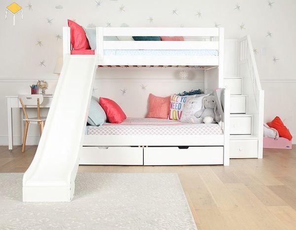 giường tầng có cầu trượt giá rẻ