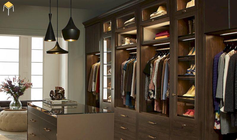 Báo giá tủ quần áo gỗ tự nhiên 3