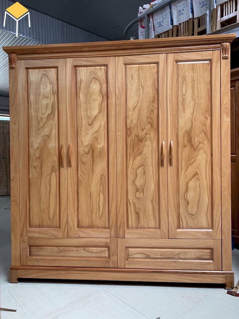 Tủ quần áo gỗ hương