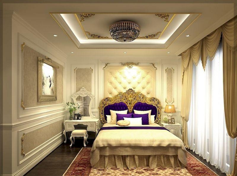 Combo phòng ngủ tân cổ điển cho phòng ngủ nhỏ