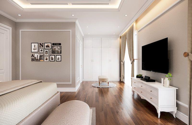 Lưu ý khi mua nội thất cho phòng ngủ tân cổ điển - chất liệu