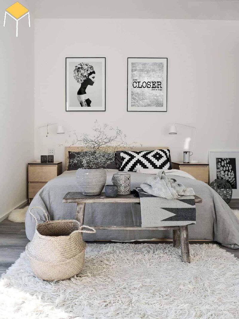phòng ngủ cho nữ phong cách bắc âu