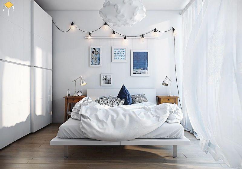 Trang trí phòng ngủ nhỏ hẹp cho nữ