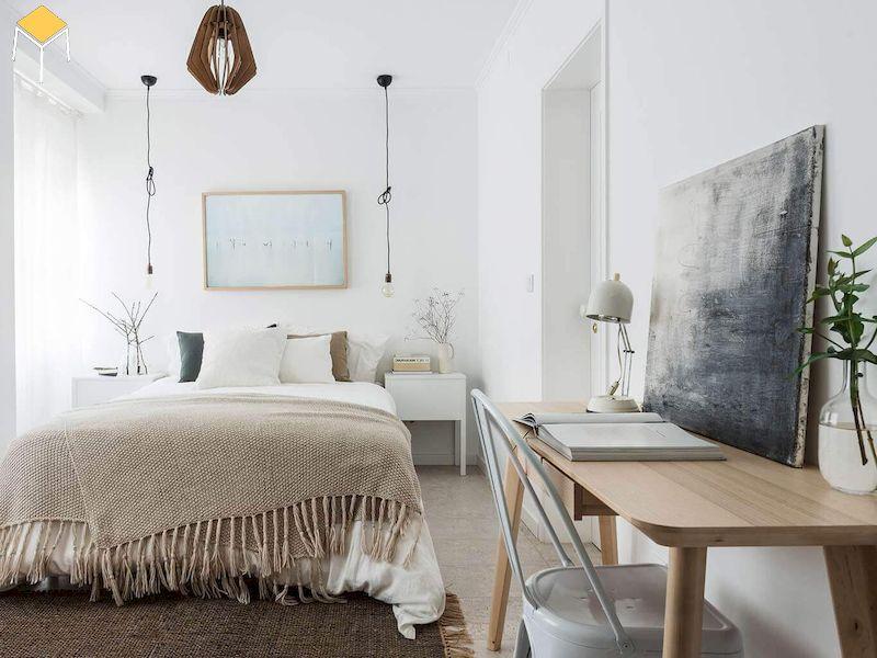 Trang trí phòng ngủ nhỏ, đơn giản