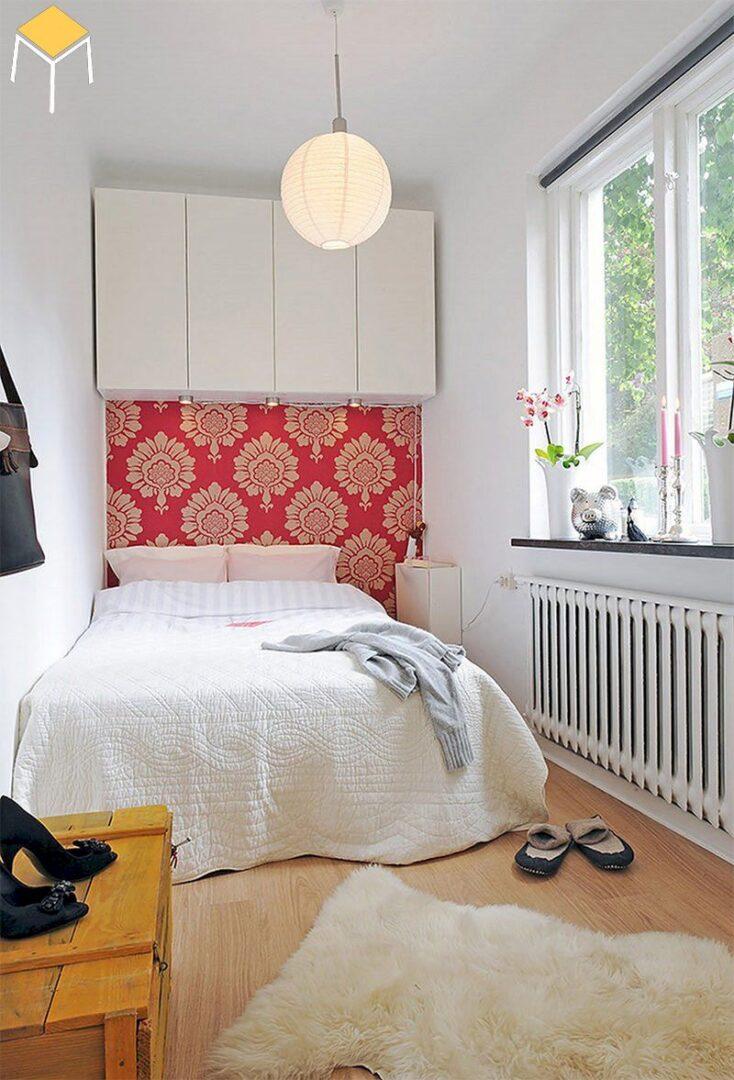 Thiết kế nội thất phòng ngủ đẹp nhỏ hẹp