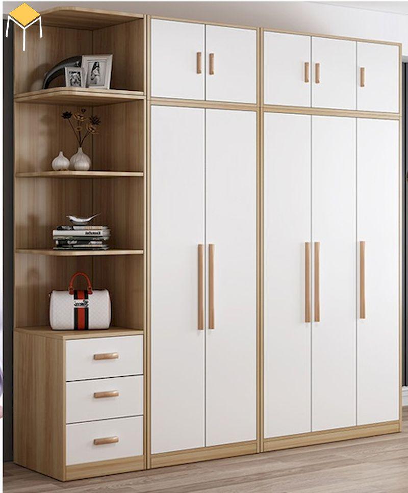 Nên mua tủ quần áo gỗ công nghiệp hay gỗ tự nhiên