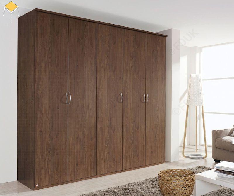 Ưu điểm của tủ quần áo gỗ công nghiệp 5 cánh