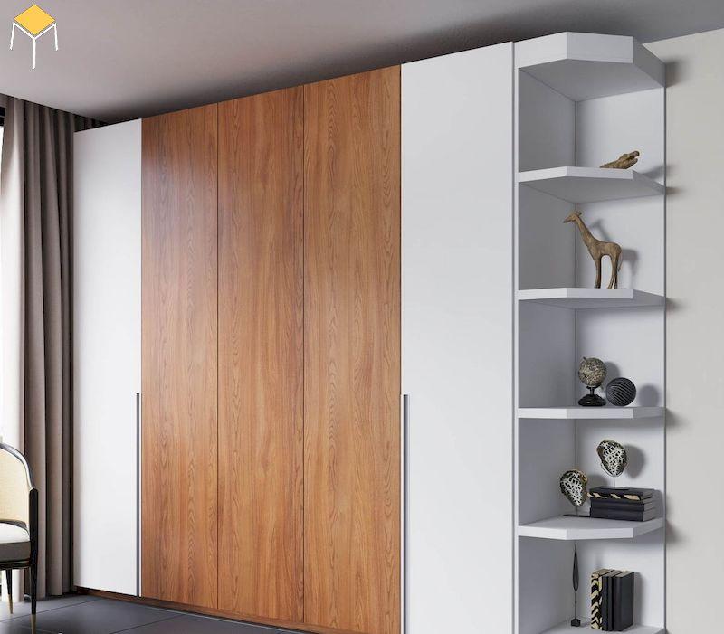 Cách chọn tủ quần áo gỗ công nghiệp 5 cánh