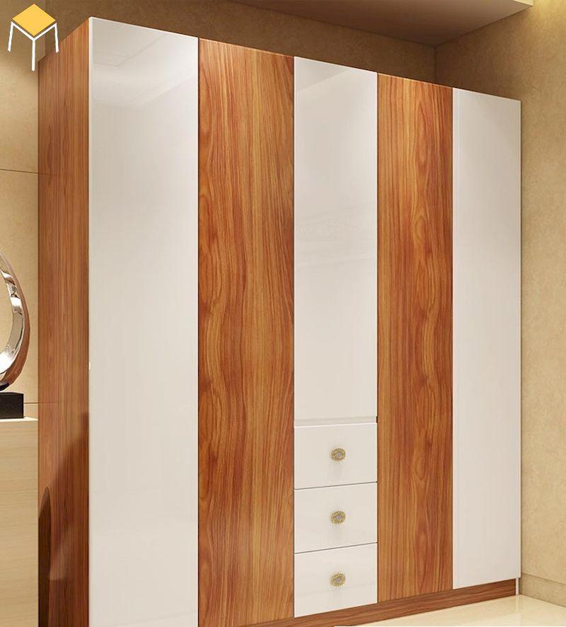 Ưu điểm của tủ quần áo gỗ công nghiệp trong nội thất nhà ở