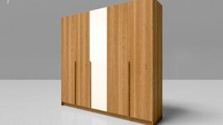 Tủ quần áo gỗ công nghiệp 5 cánh 7