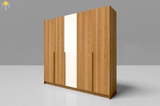 Tủ quần áo gỗ công nghiệp 5 cánh 10