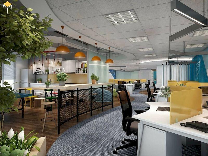 Trang trí văn phòng làm việc bằng màu sắc - 5