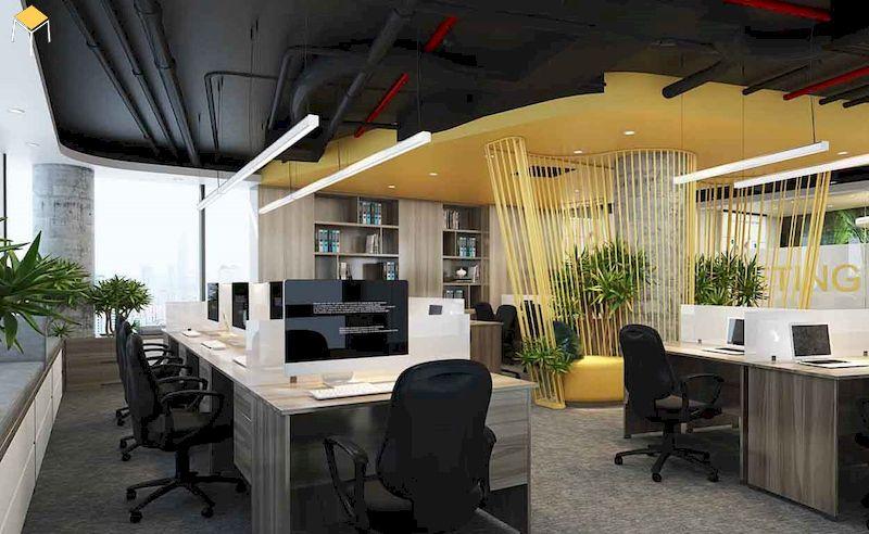 Đưa yếu tố thương hiệu vào thiết kế văn phòng