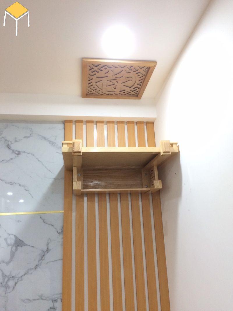 Kích thước bàn thờ treo tường