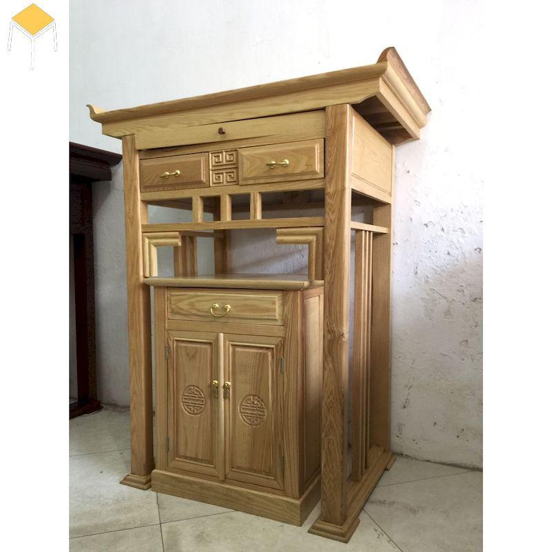 Báo giá ban thờ gỗ sồi đẹp, giá rẻ