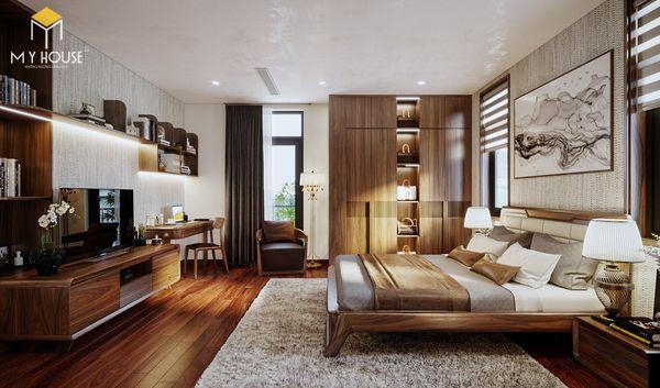 Phòng ngủ hiện đại - Sang trọng: Hãy để gỗ óc chó lên tiếng!