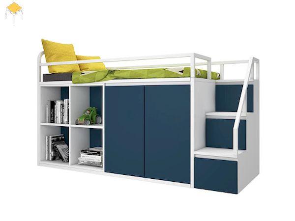 Giường tầng kết hợp tủ quần áo