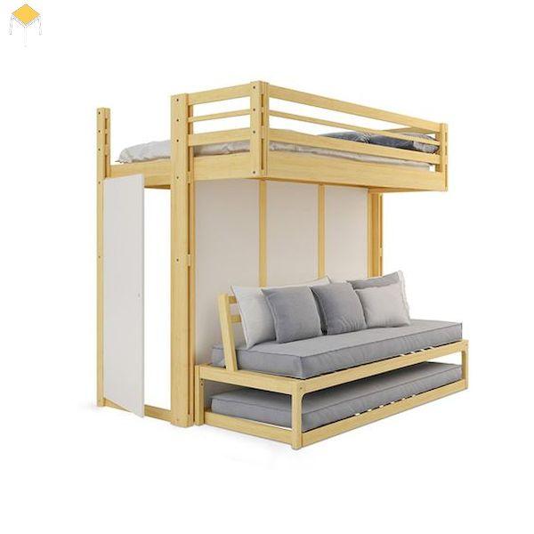 Thiết kế giường tầng đa năng giá rẻ
