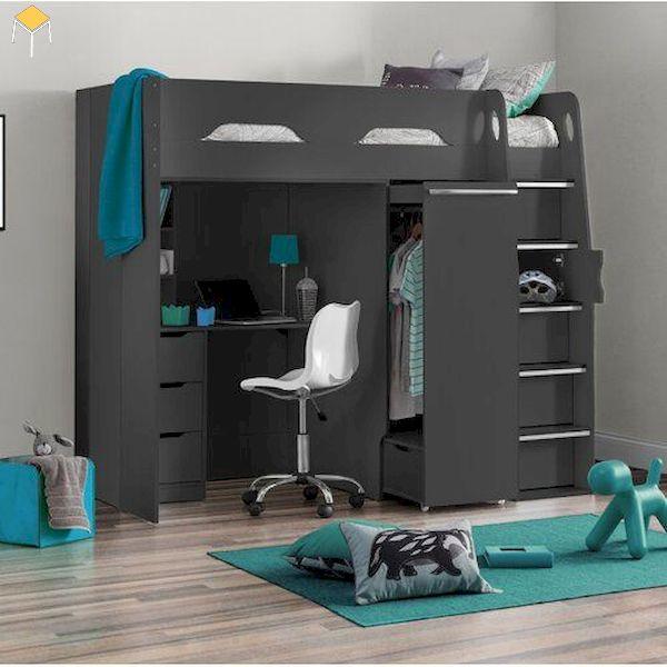 Thiết kế giường tầng đa năng hiện đại, cá tính