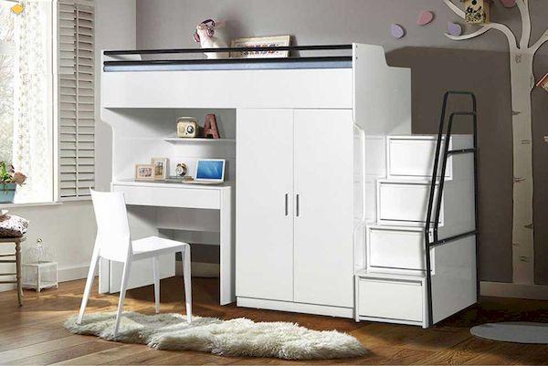 giường tầng kết hợp tủ quần áo giá rẻ