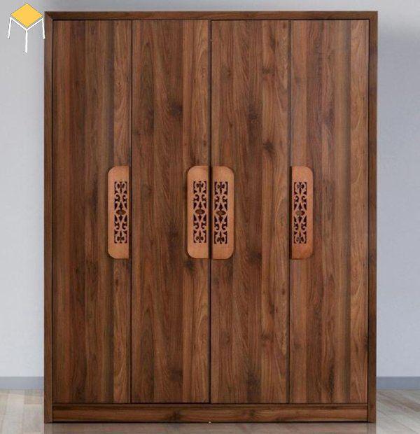Mẫu tủ quần áo gỗ tự nhiên