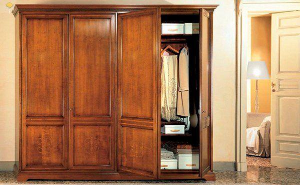 Mẫu tủ quần áo gỗ tự nhiên 4 cánh bán chạy nhất